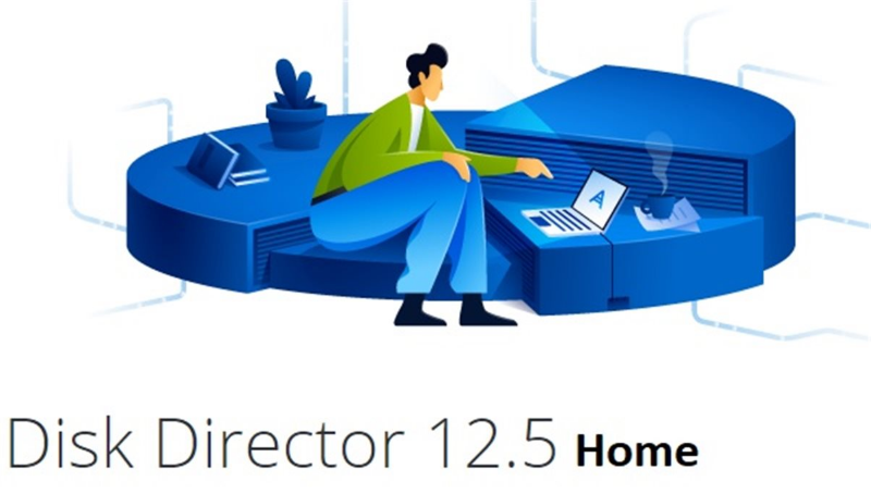 Acronis Disk Director 12.5 Home ESD - 1 PC