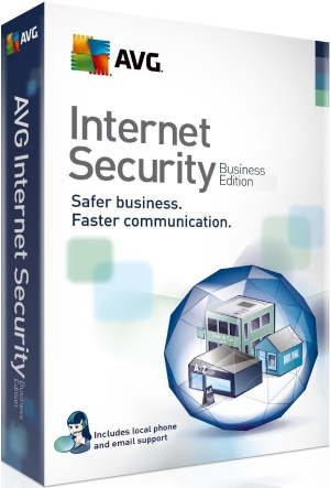 AVG Internet Security  Business licencia 20PC 12m
